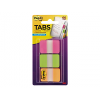Indextabs 3m Post-it             6pgo Strong 25mm Rz/gn/or