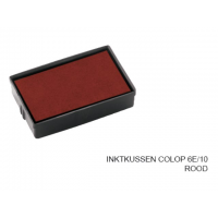 Inktkussen Colop 6e/10          Rood
