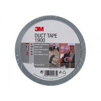 3M duct tape 1900, 50 mm x 50 m, zilver