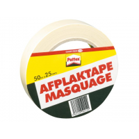 Afplaktape Pattex 50mx25mm      Creme