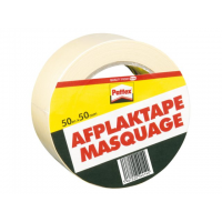 Afplaktape Pattex 50mx50mm      Creme