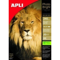 Agipa Photo Paper helder  A4  240 g   vierkante meter  high gloss 8410782044543