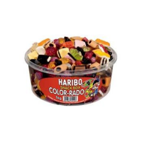 Haribo fruitgom COLOR-RADO, 1 kg tin 4001686721407