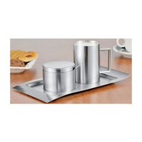 "caterado door Esmeyer melk en suiker set ""Wave"", 5-delige 4007796033676"