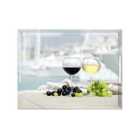 Emsa dienblad CLASSIC, Thema: Summer Wine, 400x310 mm 4009049377476