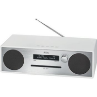 AEG Stereo Audio System MC 4469, zilver / wit 4015067007028
