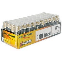 "ANSMANN alkaline batterij ""X-Power"", AA, 40-display 4013674003969"