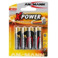 "ANSMANN alkaline batterij ""X-Power"", AA, 4 Blister 4013674003907"