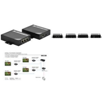 DIGITUS HDMI over IP extender set, bereik tot 100 m 4016032353768