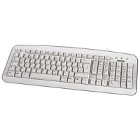 "Hama Basic Keyboard ""K210"", bedraad, USB, wit 4007249572080"