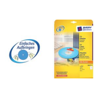 AVERY Zweckform CD labels Classic, wit, glanzend 4004182060742