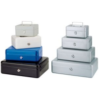 MAUL cashbox, blauw, afmetingen: (B) x 152 (T) x 125 (H) 81 mm 4002390011211