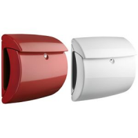 CASTLE KEEPER plastic mailbox Piano 886, rood 4003482356005