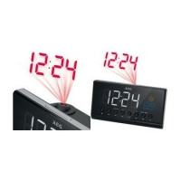 AEG FM / PLL Clock Radio MRC 4141, LED-display, zwart 4015067006144