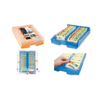 HAN flashcards Croco 2-6-19, A8, Bottom: blauw- 4012473998810