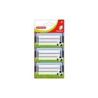 Herlitz boek etiketten Football, 78 x 42 mm 4008110830315