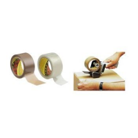 3M Scotch tape verpakking 371, PP, 38 mm x 66 m, brown 8000280419204