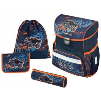"Herlitz schooltas Loop Plus ""Monster Truck"" 4008110559063"