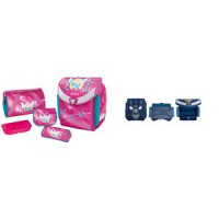 "Herlitz schooltas Flexi Plus ""Fee"", roze 4008110547657"