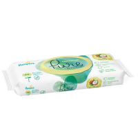 Pampers Coconut Pure Wet Wipes, Travelpack, 8001841708676