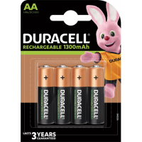 Duracell Rechargeable Plus Aa Bl4, 5000394039247