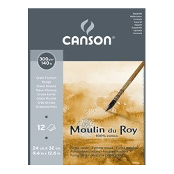 Canson Aquarel papier Moulin du Roy, ruw, 300 x 400 mm 3148950057303