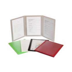 gegevens plus menu Wallet, in drie delen, A5, lime 4015845105885