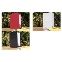 gegevens plus menu Binder, A5, bordeaux, rubber binding 4015845107193