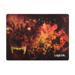 "LogiLink Glimmer Gaming Maus Pad ""Wolf"" 4052792043839"