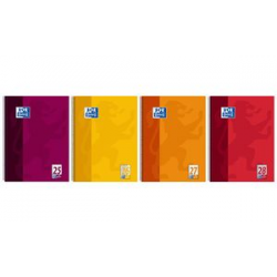 Oxford College Block A4 +, blank, 80-sheet oranje, 4006144949751